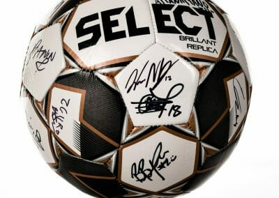 FC Tulsa Autographed Select Soccer ball 2020 Season